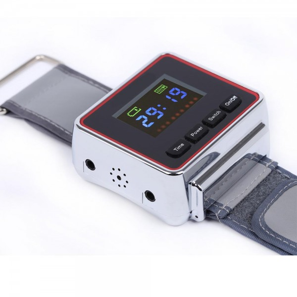Diabetes portable equipment Wrist Type LLLT nasal polyps Therapy Equipment Laser watch