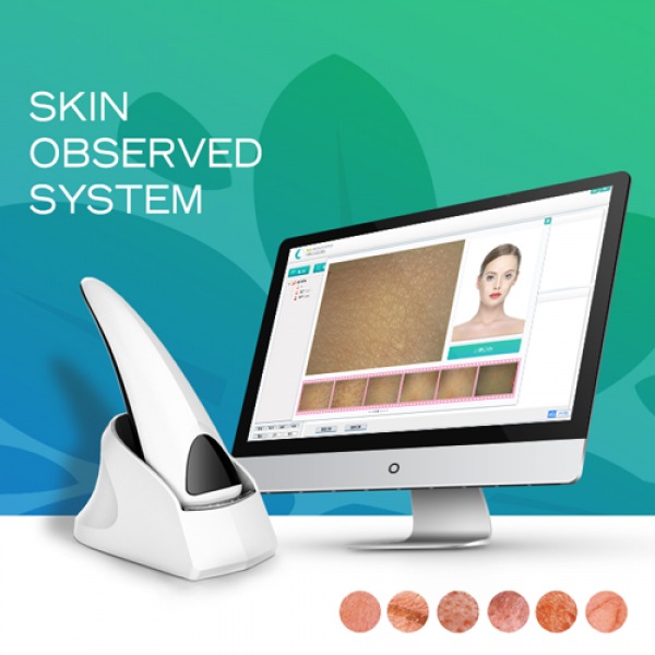 2020 New Model Portable Skin Analyzer