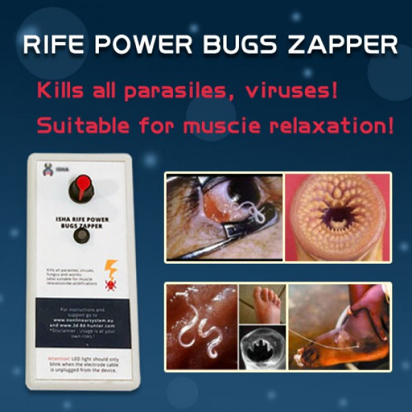 The ISHA Rife power bugs zapper for Kill Virus