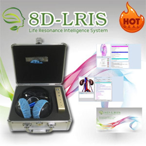 Bioplasm 8D-LRIS Bioresonance Machine - Aura Chakra Healing