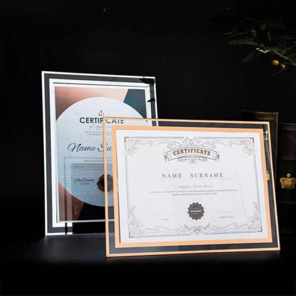 Personalized Training Certificate